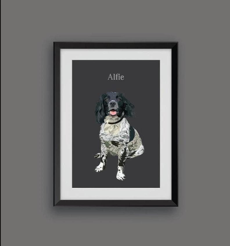 Custom Digital Pet Print