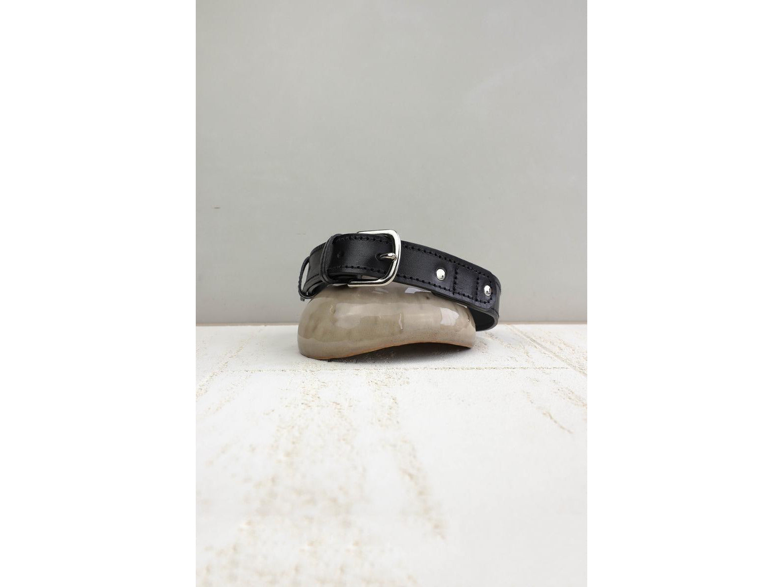Classic Leather Dog Collar