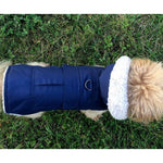 Dog Parka with Detachable Hood