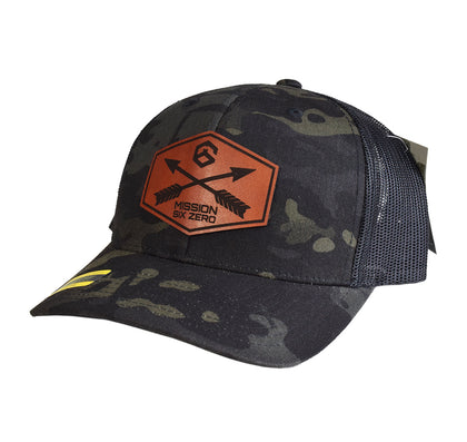 M60 Crossed Arrows Leather SnapBack