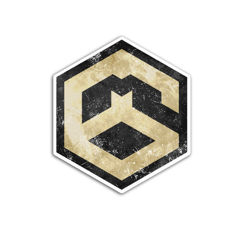 M60 Icon Logo Sticker
