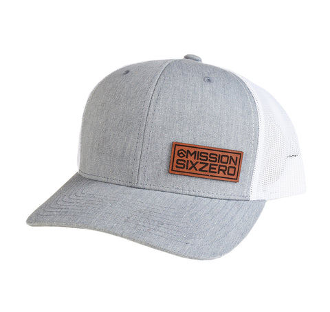 M60 Stacked Offset Leather Patch SnapBack
