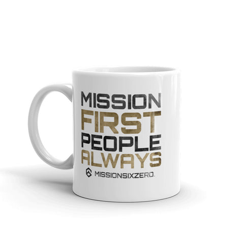 Mission First People Always Mug