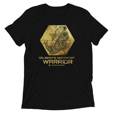 Deliberate Discomfort Warrior T-shirt