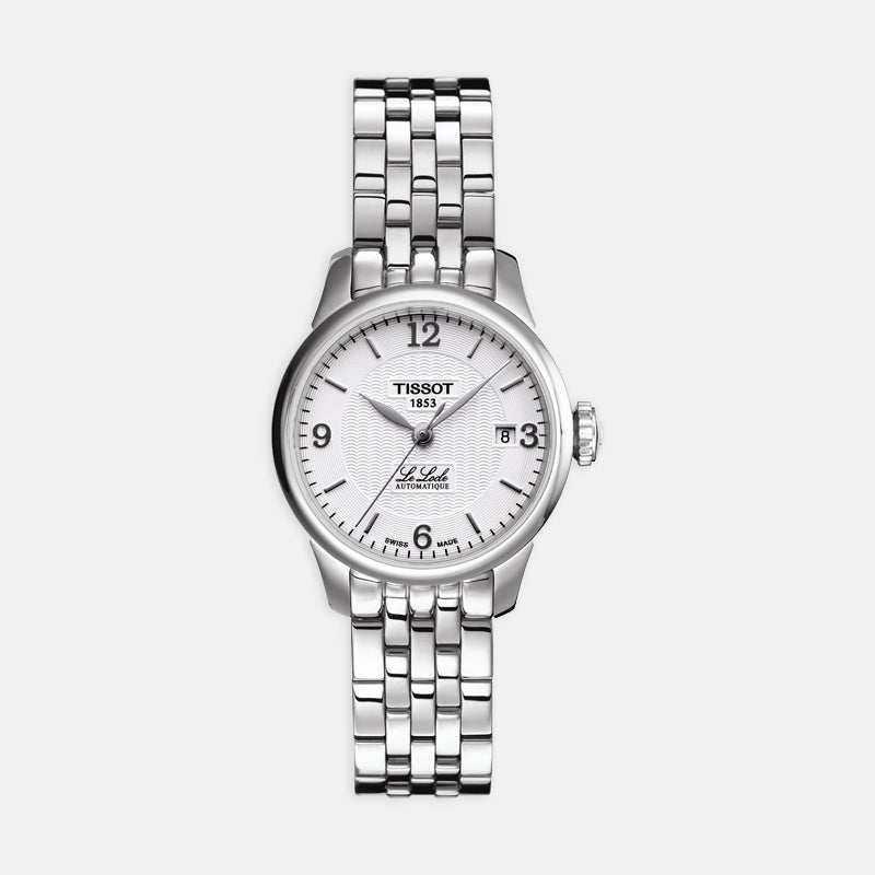 Tissot Le Locle Automatic Small Lady<br> 25.3mm White Dial<br> Stainless Steel Bracelet