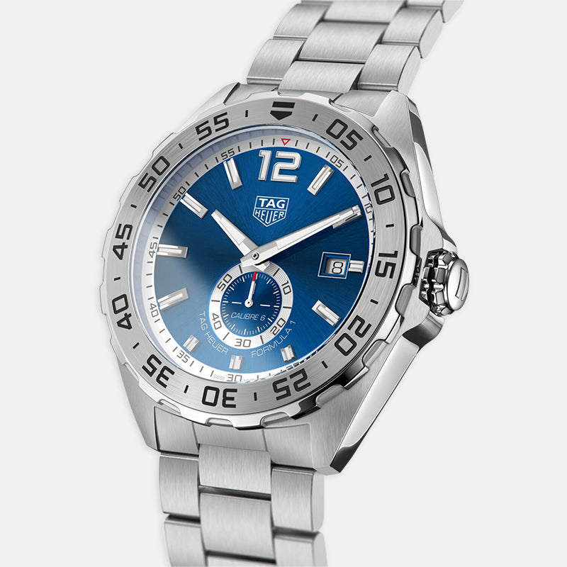 TAG Heuer Formula 1<br> 43mm, Blue Dial <br> Stainless Steel Bracelet