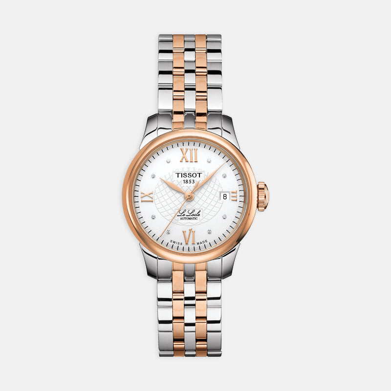 Tissot Le Locle Automatic Lady<br> 25.3mm Silver Dial<br> Stainless Steel Bracelet