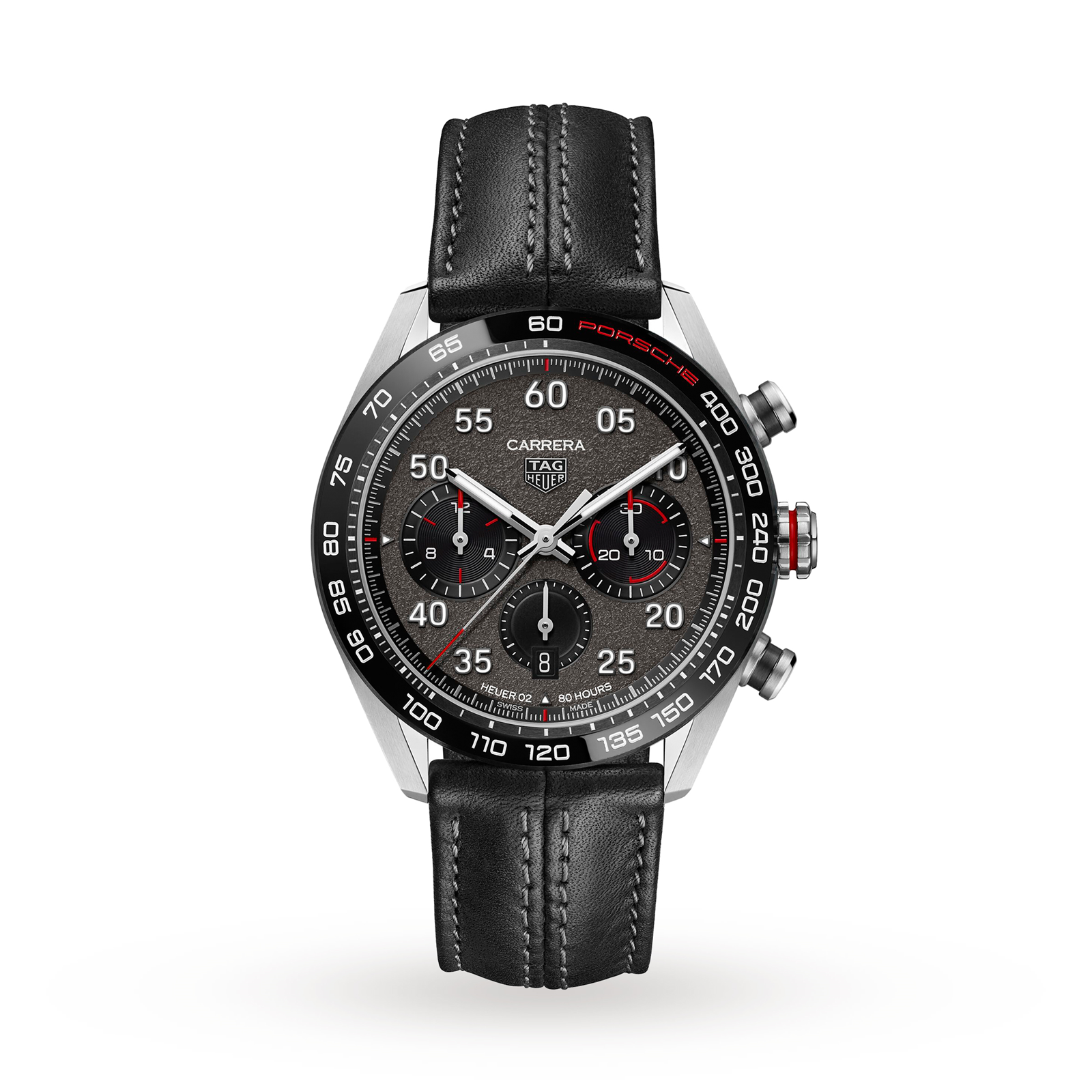 TAG Heuer Carrera Porsche Chronograph Special Edition <br> 44 mm Caliber Heuer 02 Automatic