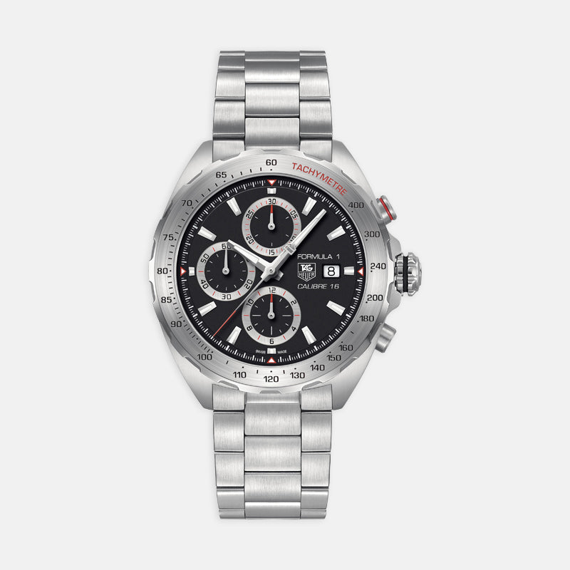 TAG Heuer Formula 1<br> Automatic, 44mm, Black Dial<br> Stainless Steel Bracelet