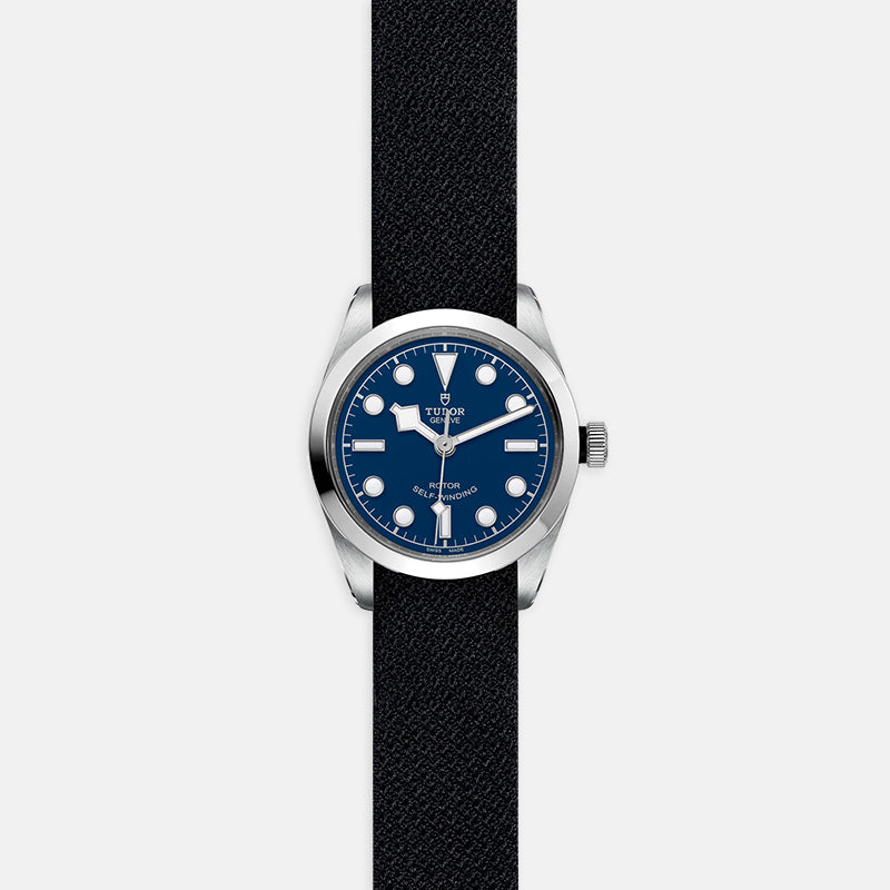 TUDOR Black Bay 36<br> Blue Dial<br> Black Fabric Strap