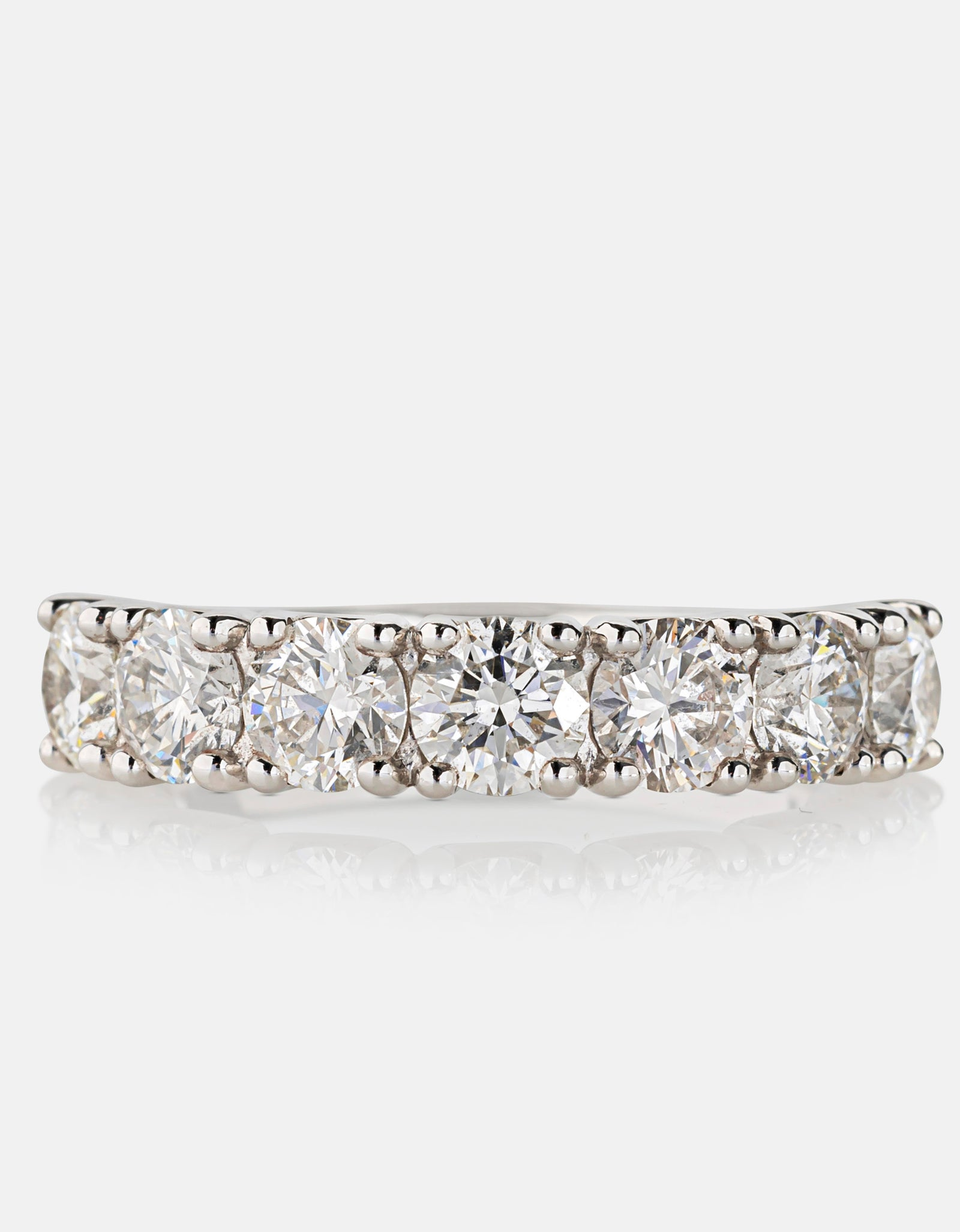 2.18ct Diamond Eternity Ring<br>Platinum