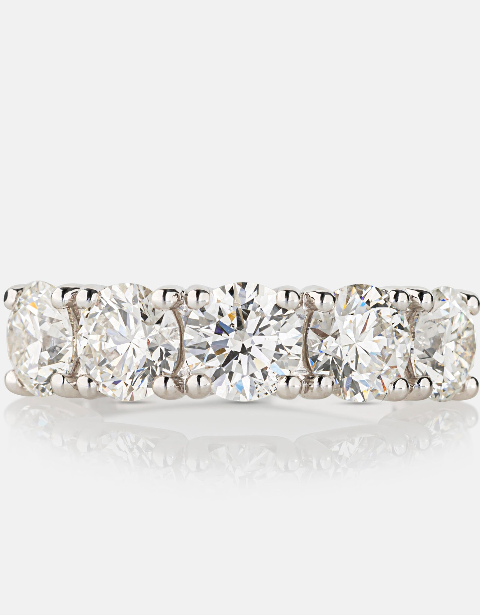 3.50ct Diamond Eternity Ring<br>Platinum
