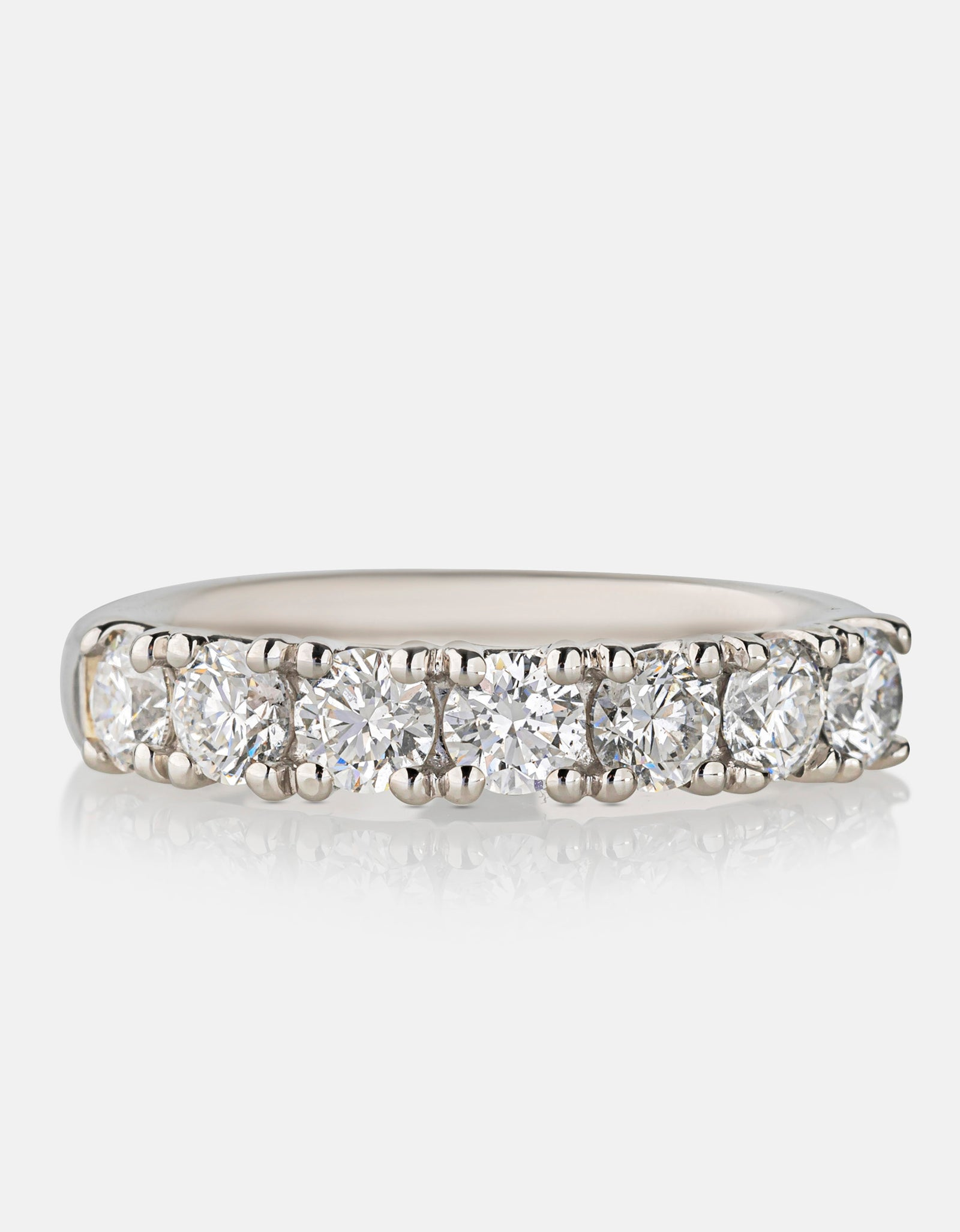 1.35ct Diamond Eternity Ring<br>Platinum