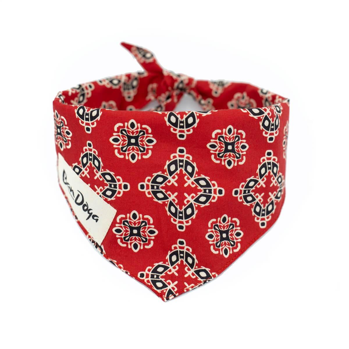 Classic Red Dog Bandana - Bandoga
