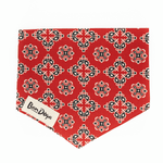 Load image into Gallery viewer, Classic Red Dog Bandana