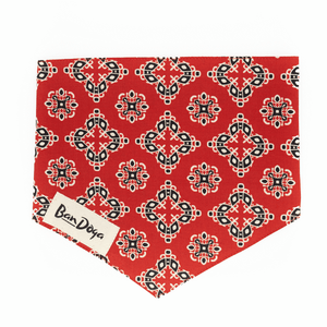 Classic Red Dog Bandana