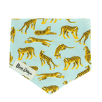 Load image into Gallery viewer, Turquoise Tiger Dog Bandana