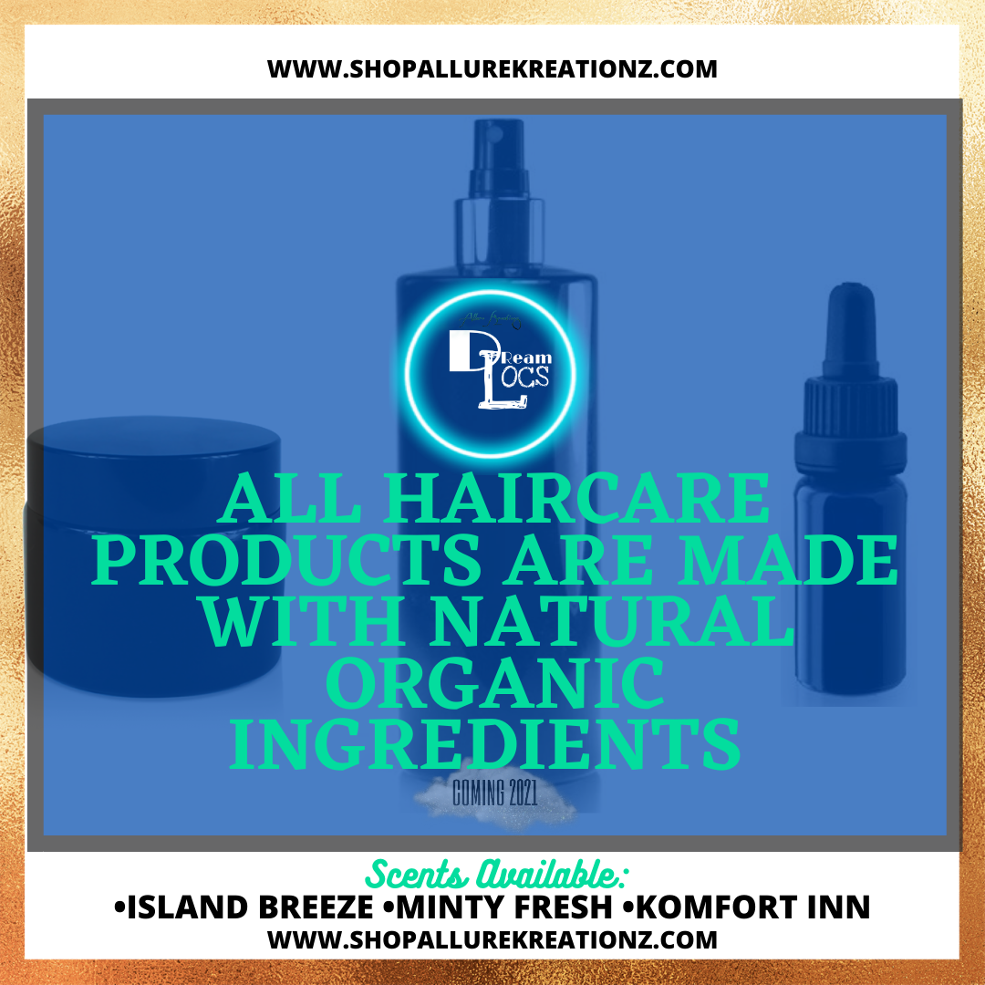 NOW OFFERING PREMIUM GRADE HAIR CARE PRODUCTS FOR LOCS.