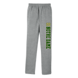 Notre Dame Grey Open Bottom Sweatpant