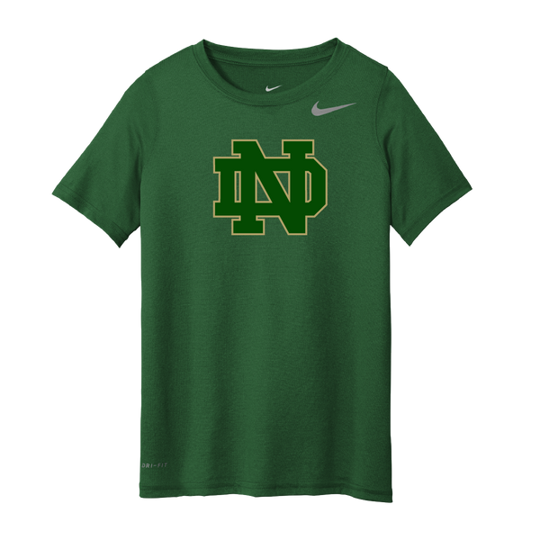 Notre Dame Nike Green Legend Tee