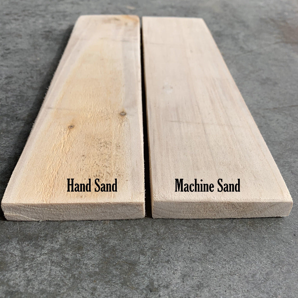 New Pallet Wood Hand or Machine Sanded