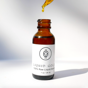 LIQUID | GOLD - 100% Raw Serum  | Holy Raw