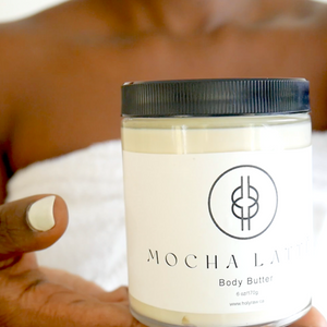 MOCHA | LATTÉ - Ghanaian | Canadian Body Butter  | Holy Raw