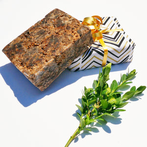 SAMINA - 100% Authentic Black Soap from Ghana | Holy Raw