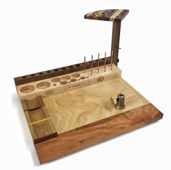 The Traveler fly tying bench is great for tying flies almost any where!
