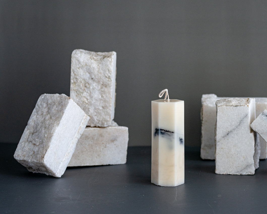 Marble Candle Collection - Costasavanna