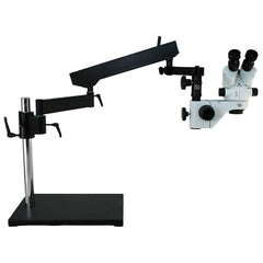 Richter Optica S6-AAHB-LEDR Stereo Zoom Articulated Arm Microscope 7x-45x
