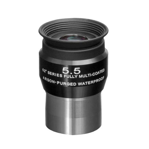 Explore Scientific 5.5mm, 14mm, 26mm and 32mm 62 Degree Waterproof Eyepieces with Soft Case