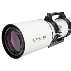 Explore Scientific 127mm Air-Spaced Triplet Apochromat Refractor Telescope - Optical Tube Assembly with Accessories