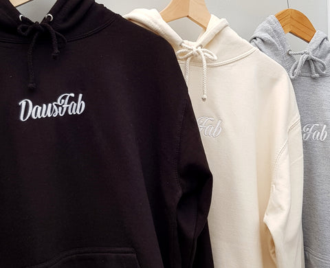 DausFab Hoodie with Embroided Logo