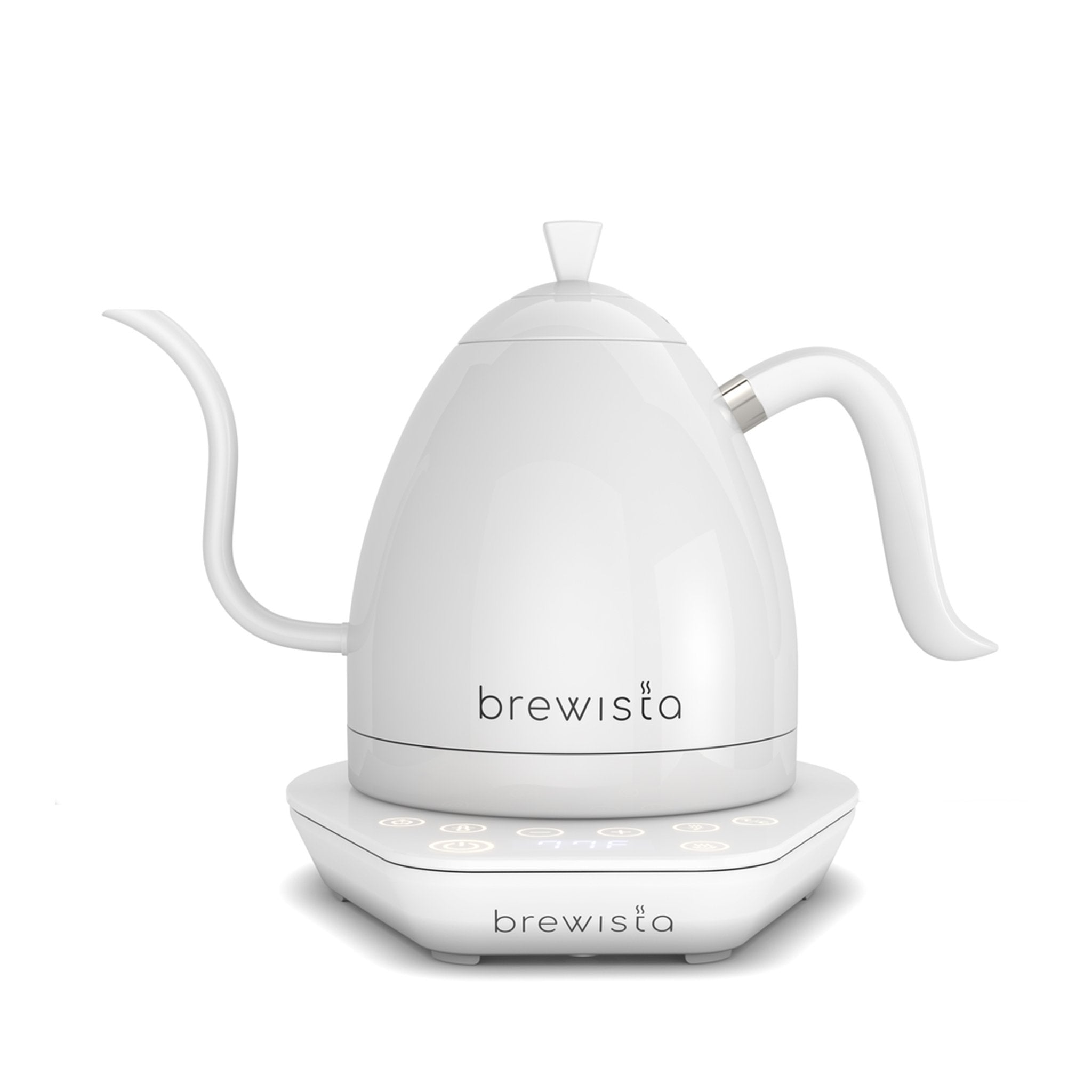 Brewista Artisan Variable Temperature Gooseneck Kettle 600mL-Pure White