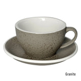 Loveramics Egg 250mL Cappuccino Cup & Saucer - Granite