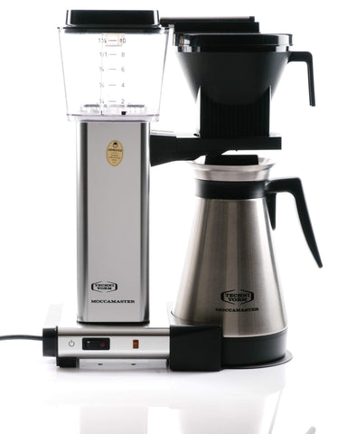 Technivorm Moccamaster CoffeeMaker KGBT-741 Thermal Carafe-Stainless