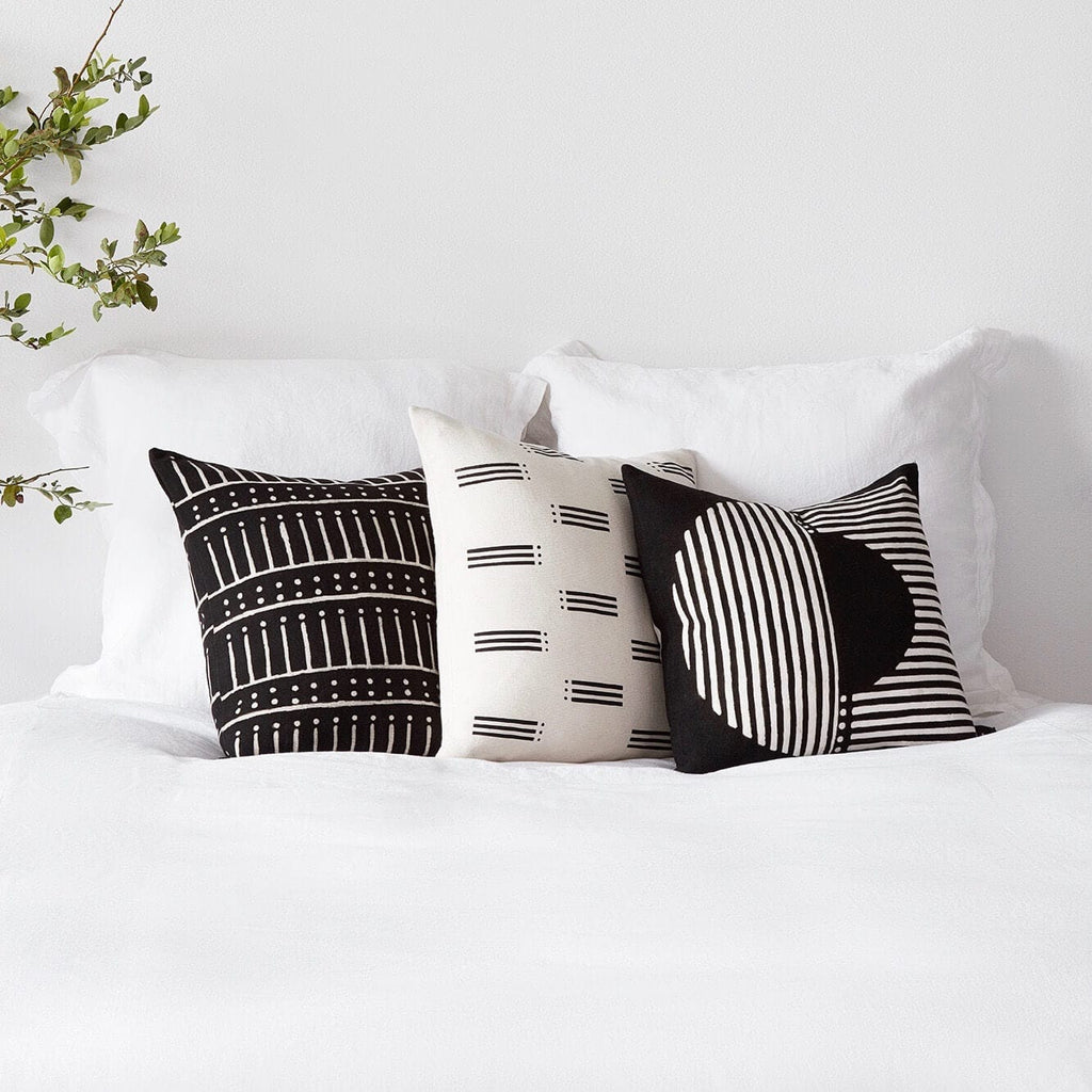 African Mud Cloth Pillows Set Of 3 Free Shipping