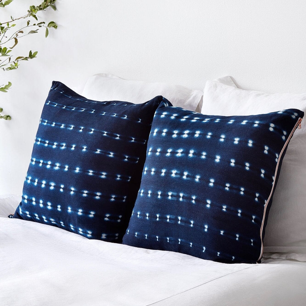 Indigo Cotton Throw Pillows Free Shipping Amp Returns