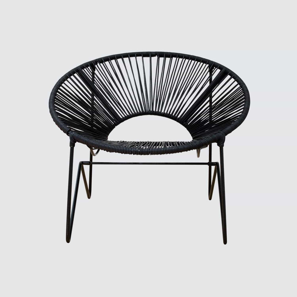 the citizenry aldama acapulco chair black black the citizenry. Black Bedroom Furniture Sets. Home Design Ideas