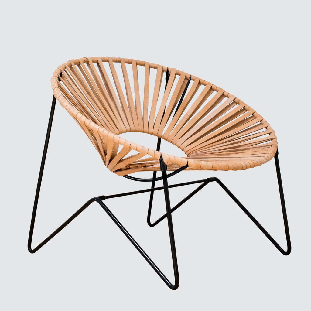 Sensational Aldama Chair Black Natural Caraccident5 Cool Chair Designs And Ideas Caraccident5Info