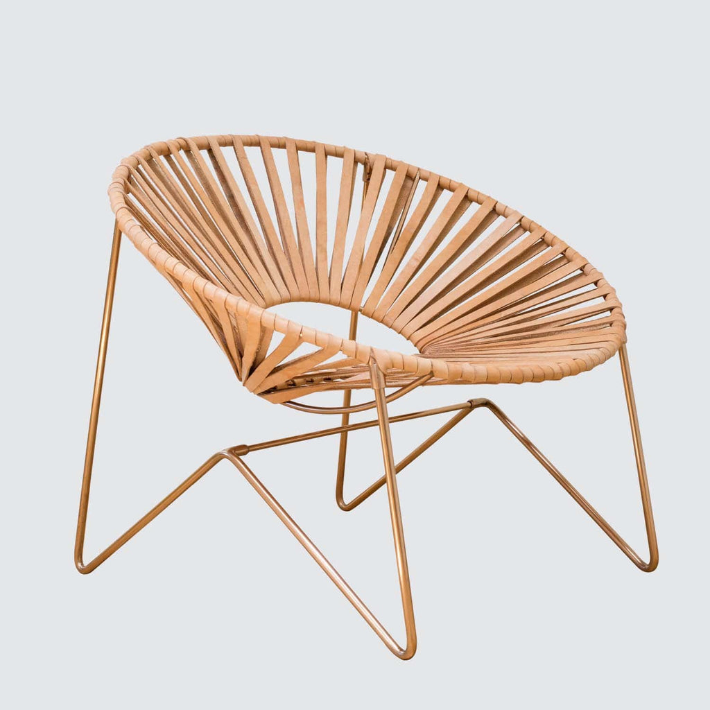 Charmant Aldama Chair   Copper U0026 Natural