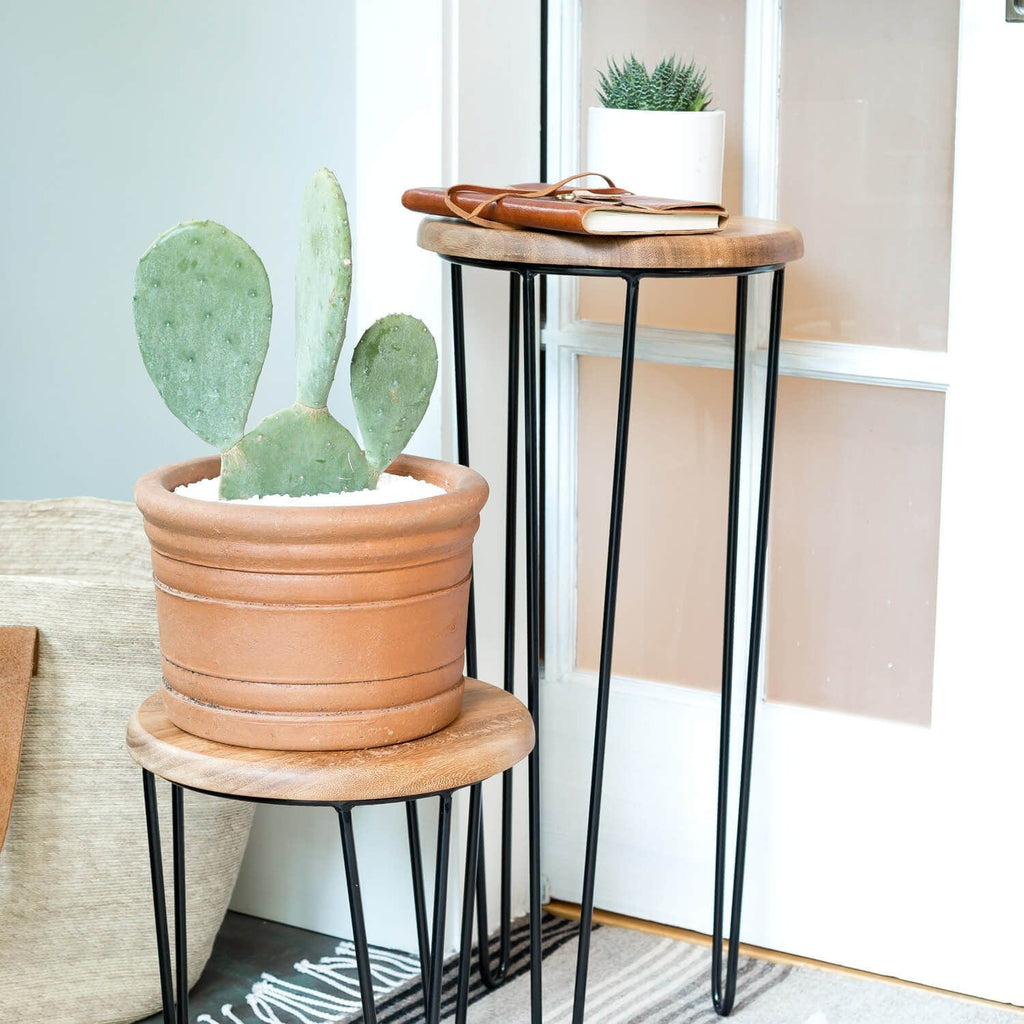 aldama side tables black