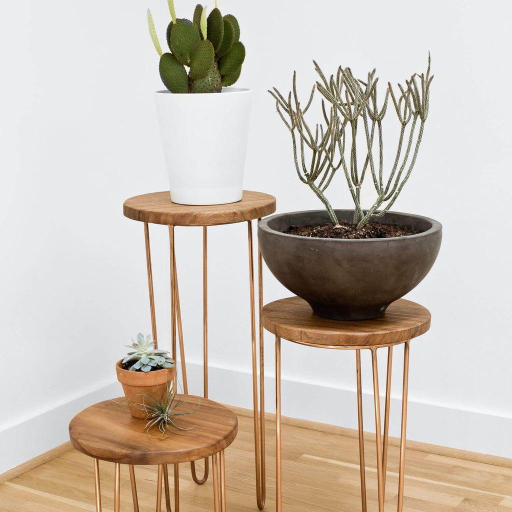 The citizenry aldama side tables copper the citizenry for Table y copper