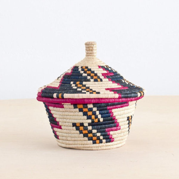 Baraka Wishing Basket - Magenta