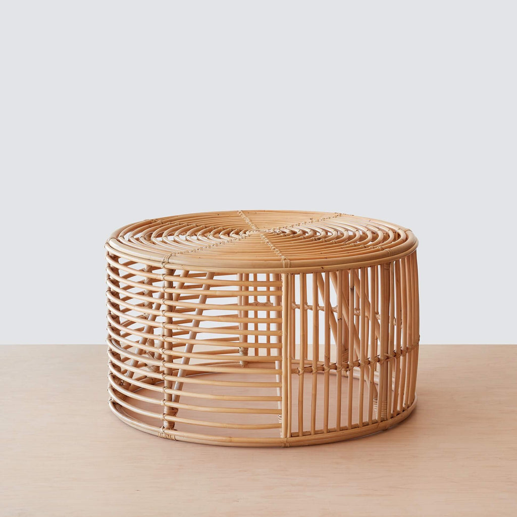 - Java Rattan Coffee Table – The Citizenry