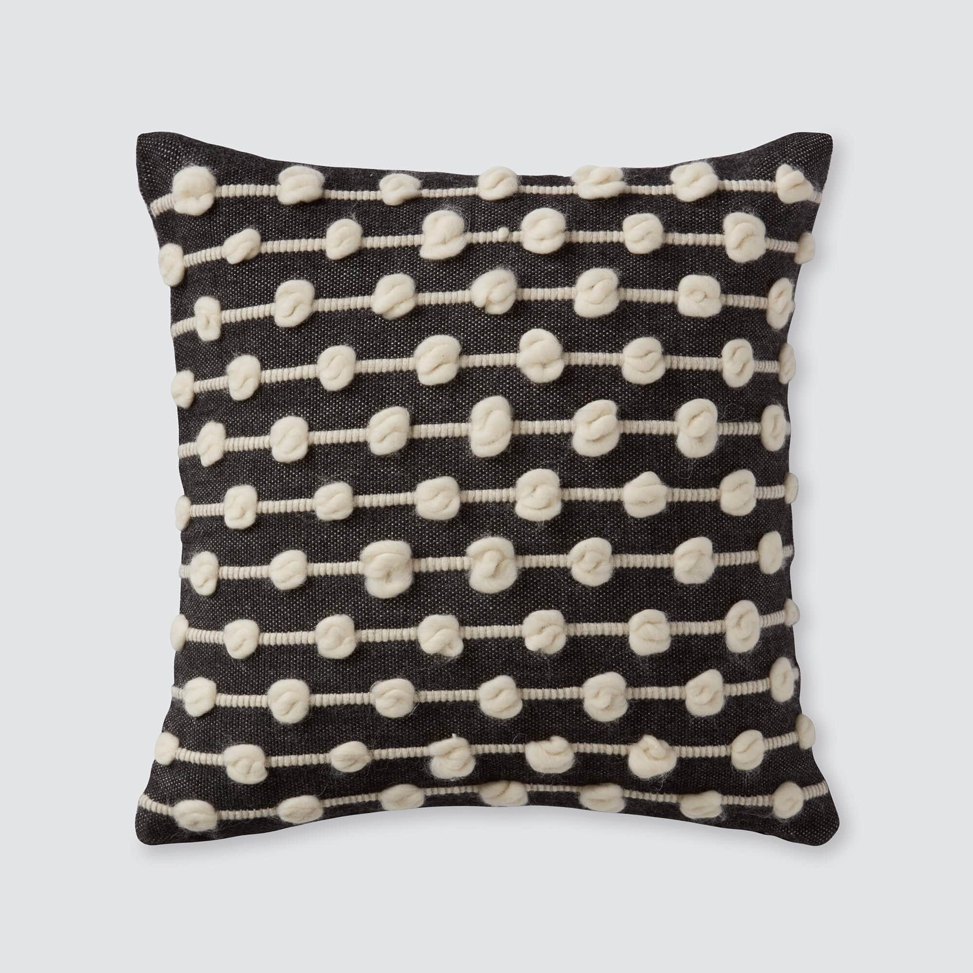 Modern Wool Throw Pillows Ethically Made In Peru The Citizenry