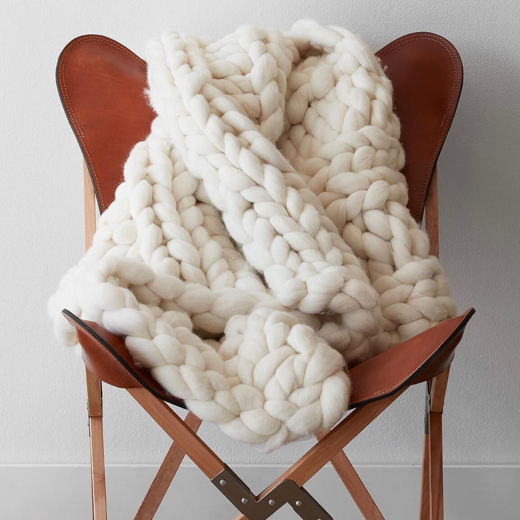 knit throw blanket Chunky Knit Throw Blanket | Handcrafted with Merino Wool – The  knit throw blanket
