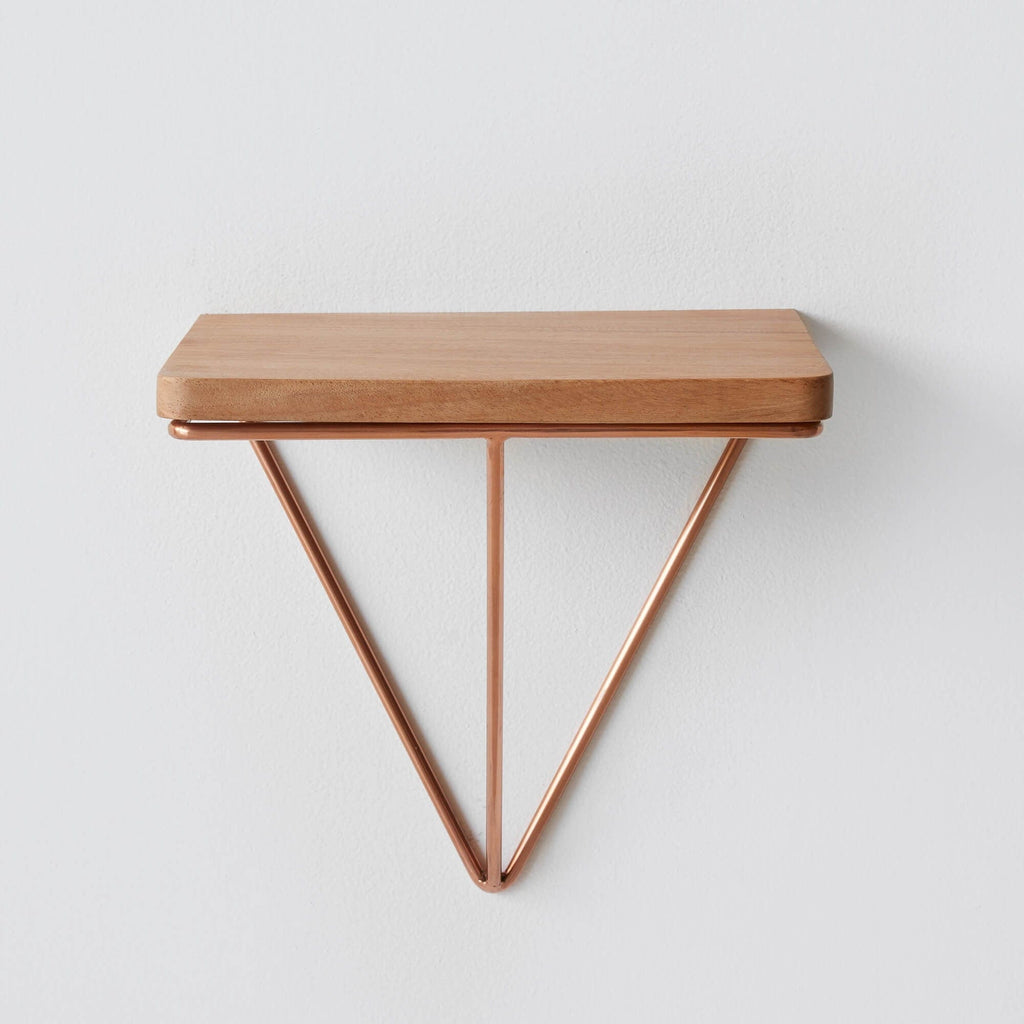 floating side table copper the citizenry