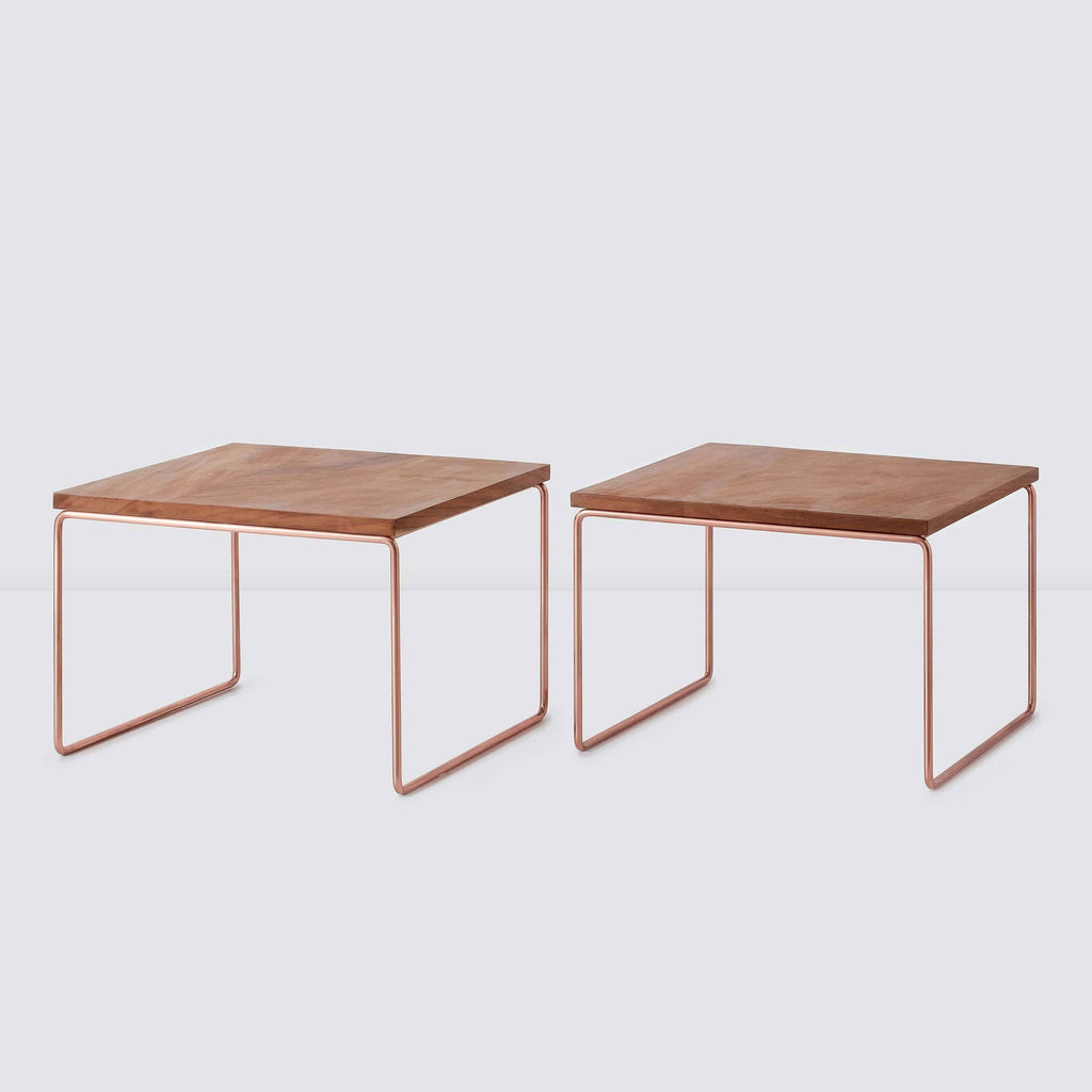 Modular coffee table copper the citizenry for Table y copper